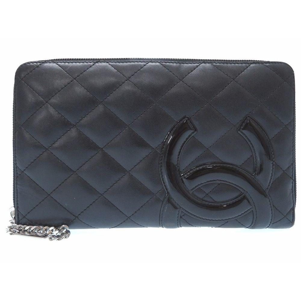 abee5651cc35 chanel Women's Lambskin Wallet Black,Pink   Classic Chanel   Chanel ...