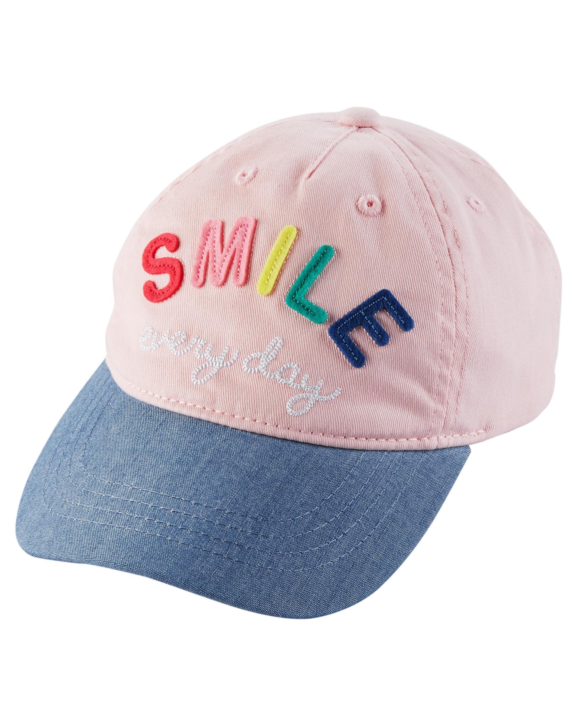 ea63ab59e Kid Girl Smile Baseball Hat