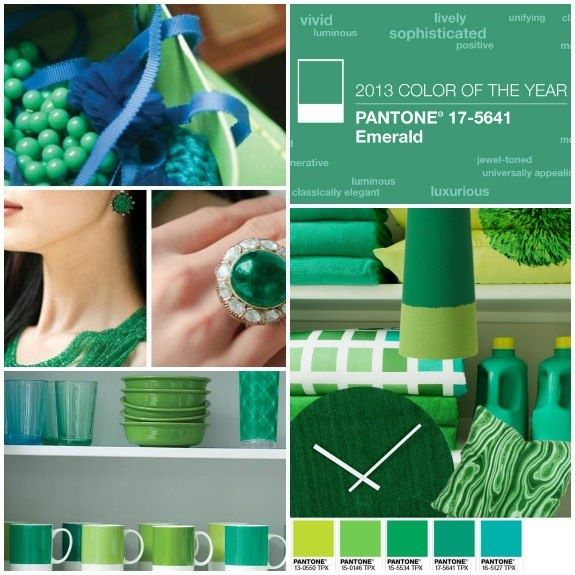 pantone 2013 color of the year emerald g colors pinterest