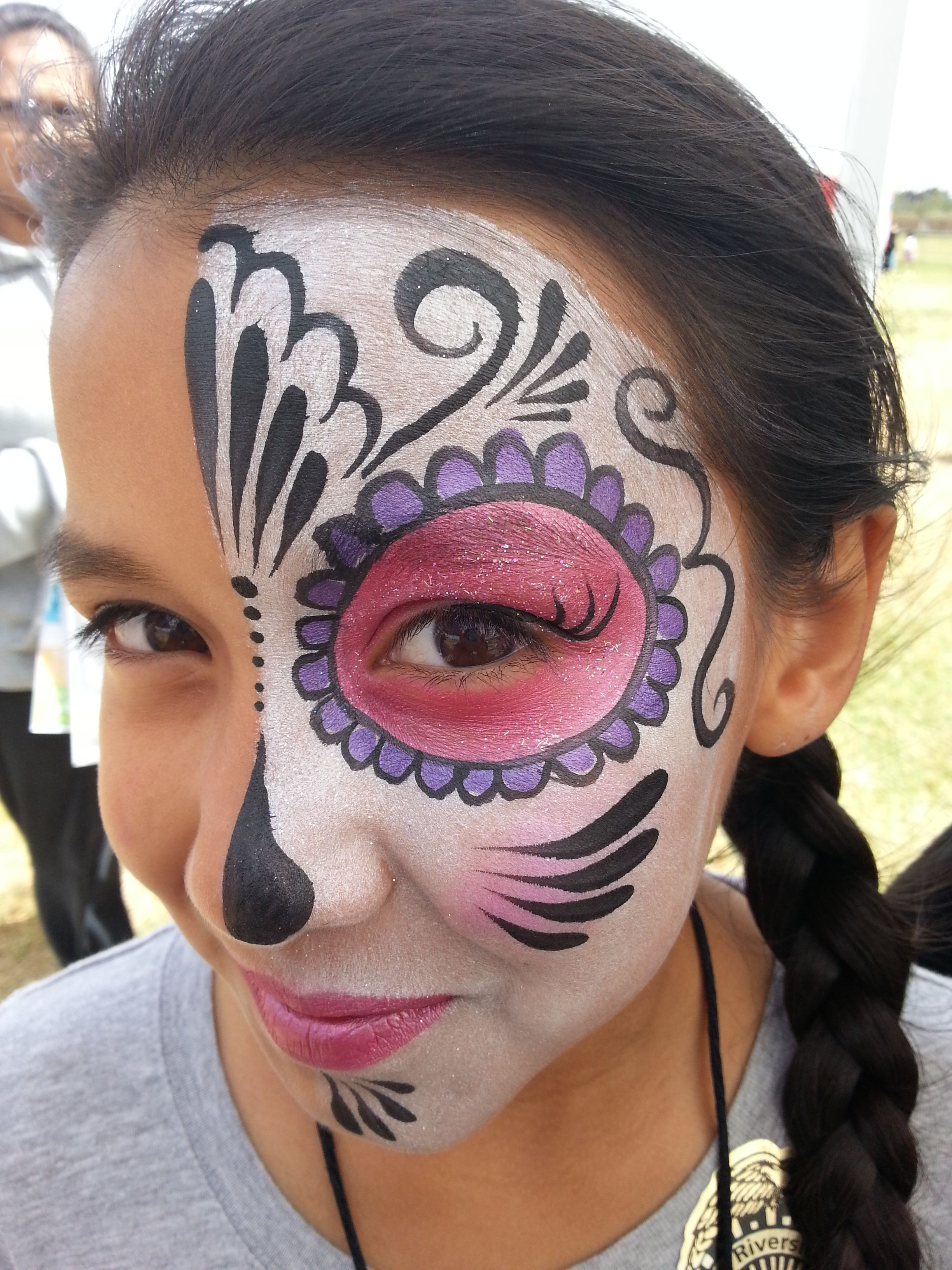 dia de los muertos articles for kids facepainting ...
