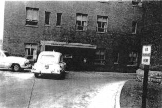 Old Emergency Room Entrance At Mckeesport Hospital I