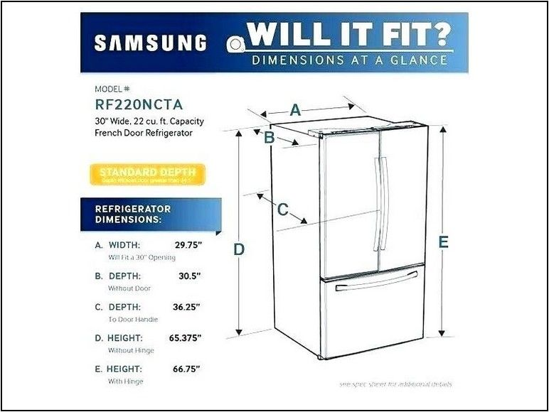 What Is The Width Of A Standard Size Refrigerator Design Innovation In 2020 Refrigerator Sizes Whirlpool Refrigerator Refrigerator