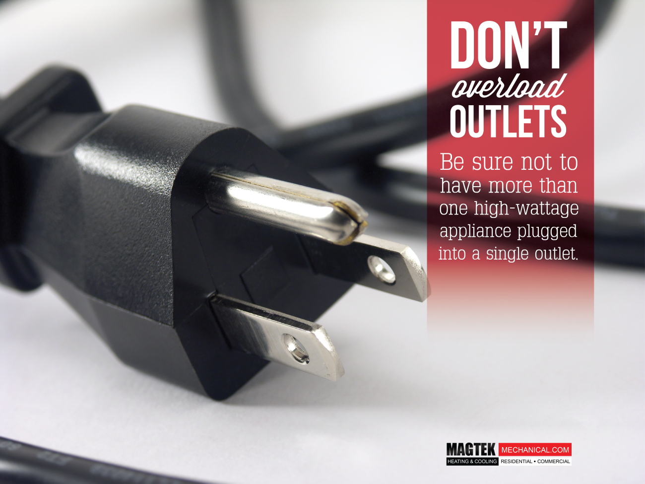 Weekend Reminder Don T Overload Your Outlets Home Heating
