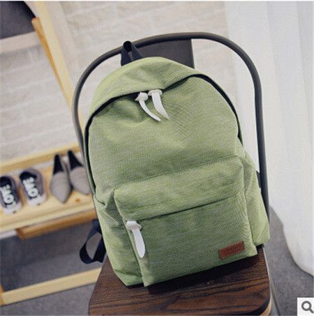 714eea70704f DIDA BEAR Women Canvas Backpacks Ladies Shoulder School Bag Rucksack For Girls  Travel Fashion Casual Bags Bolsas Mochilas Sac