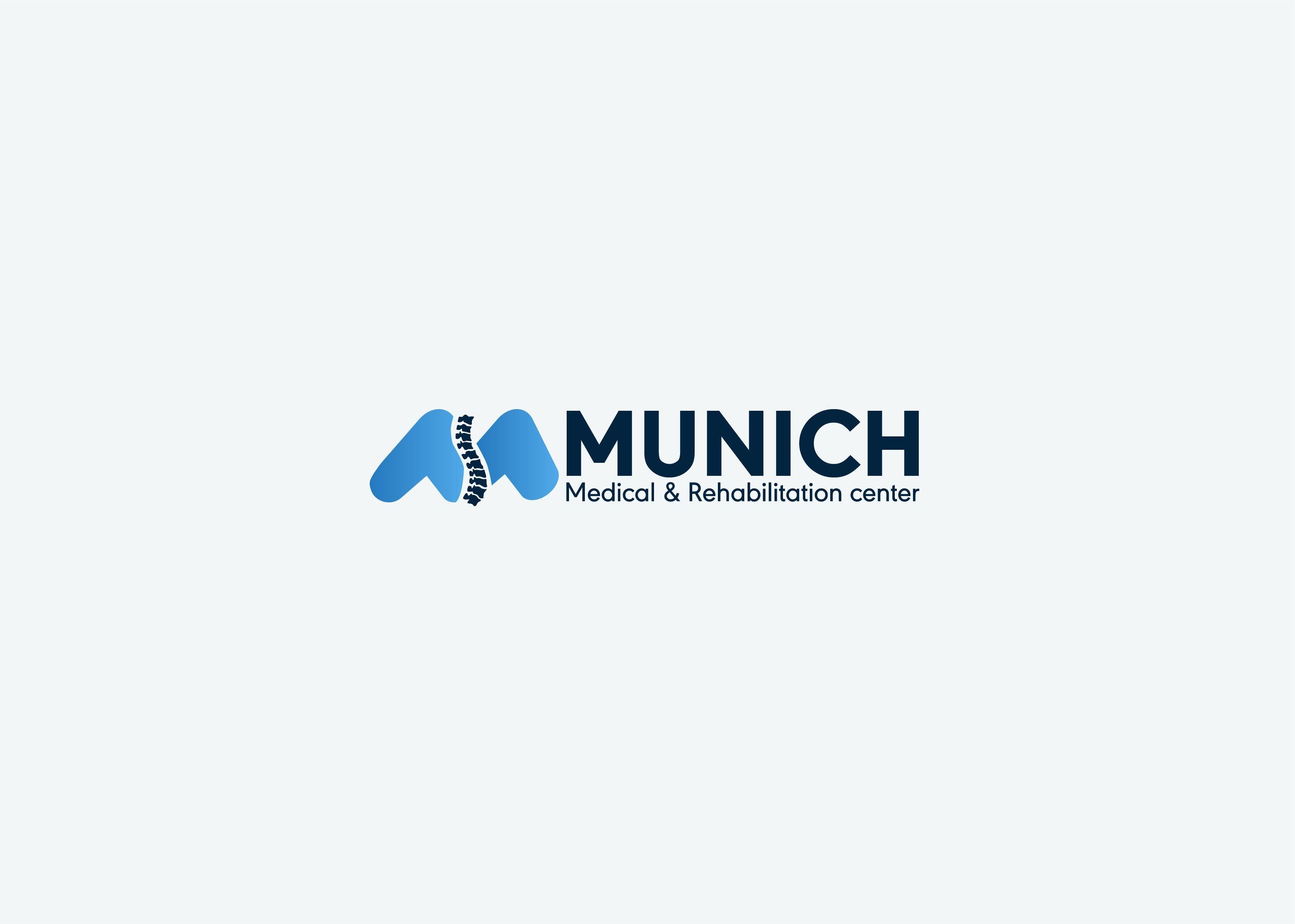 Munich Logo Design For Medical Rehabilitation Center Logo Design Logos Rehabilitation Center