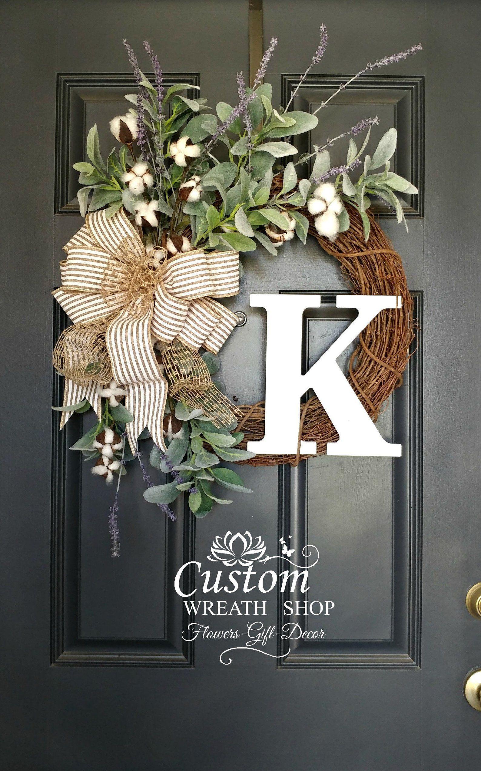 Photo of READ TO SHIP Christmas Wreath, Red Magnolia Wreath, Winter Wreaths, Buffalo Plaid Wreath, Holiday Decor for Door, Berry Wreath