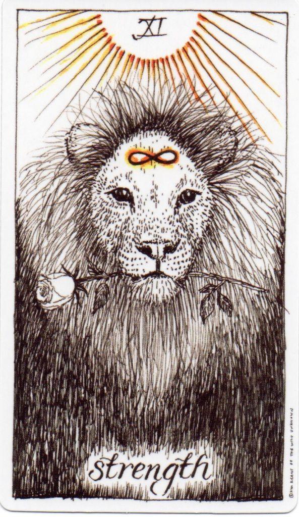 LGBTQ Tarot Card of the Day Strength - Coming Out Tarot