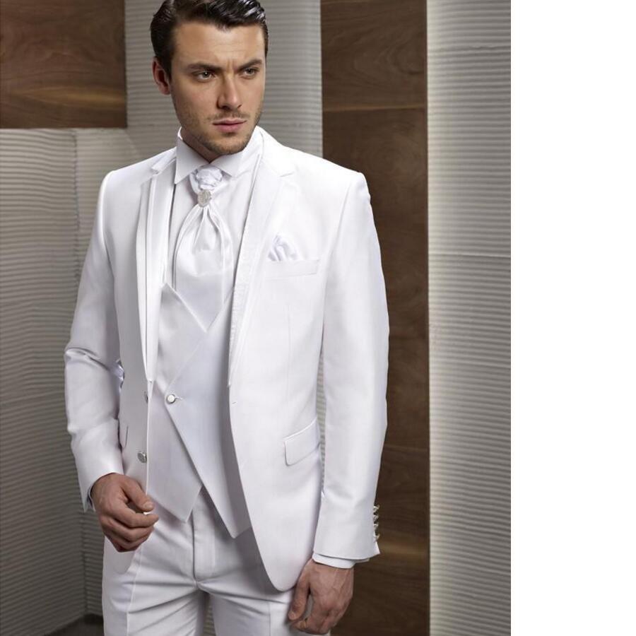 Click to Buy << Custom Made New Style Groom Tuxedos Notch Lapel ...