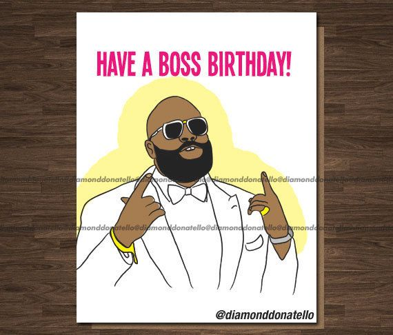 Birthday Card For Boss Birthday Wishes Funny Birthday Card Cards