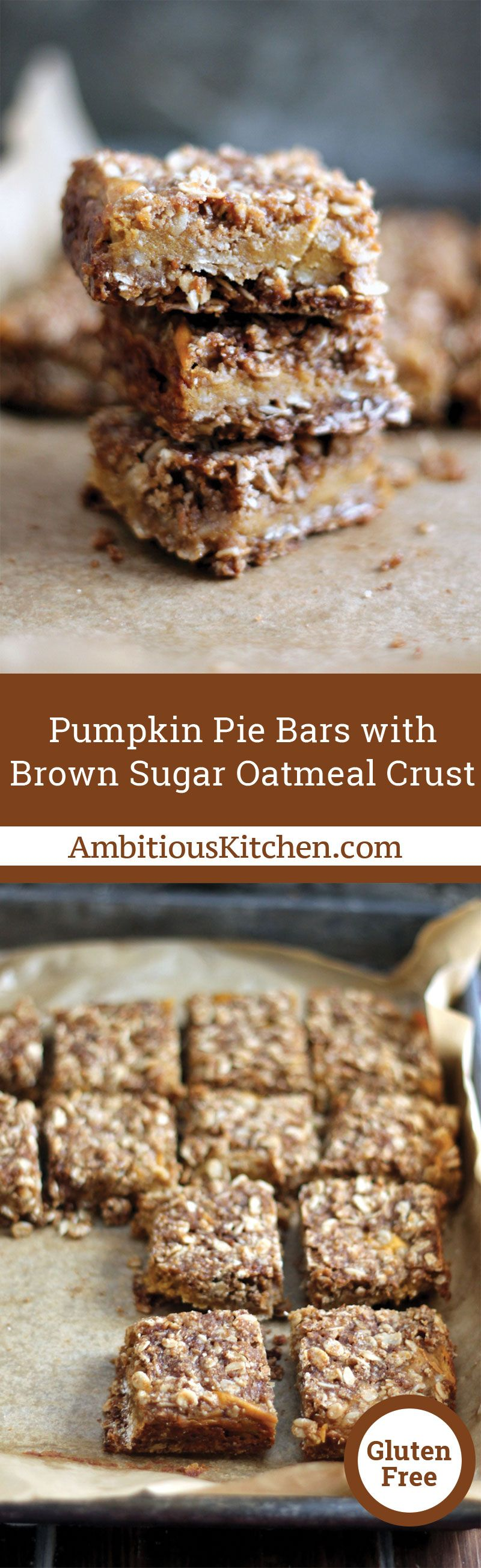 Easy Pumpkin Pie Bars With Oat Crust Are The Quick And Easy Way To Enjoy Pumpkin Pie They Take Only 15 Easy Pumpkin Pie Pumpkin Pie Bars Easy Pumpkin Dessert