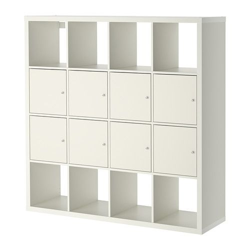 Kallax Shelf Unit With 8 Inserts Ikea Another Possible Room Divider