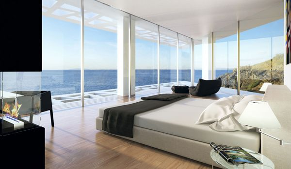 Image Sea View Homes Google Search Amazing Bedroom Designs Modern Villa Design Luxury Homes