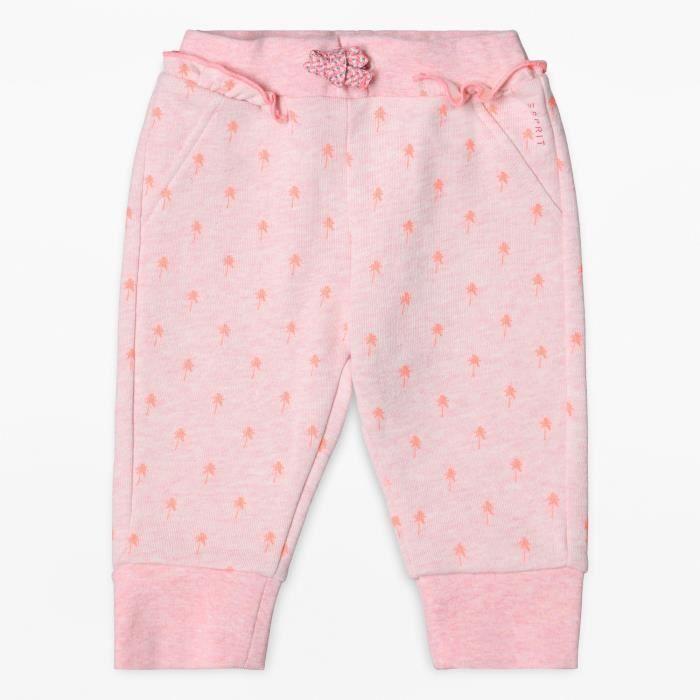 ESPRIT Pantalon Molletonné Rose Bébé Fille