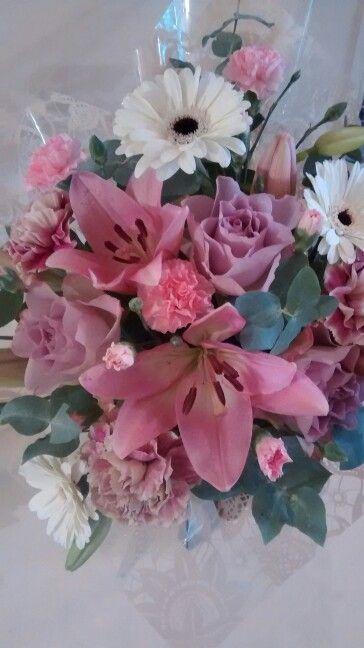 Pink n pastel floral box