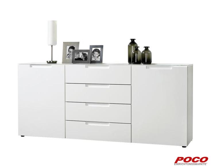 Kommode Mailand 180 Cm Online Bei Poco Kaufen Sideboard Kommode Stauraum