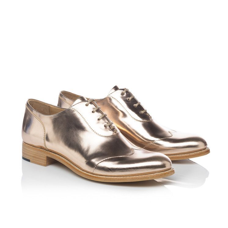 a2c77644357 Mr. Evans Rose Gold Women's Wingtip - these are my faves. Adore ...