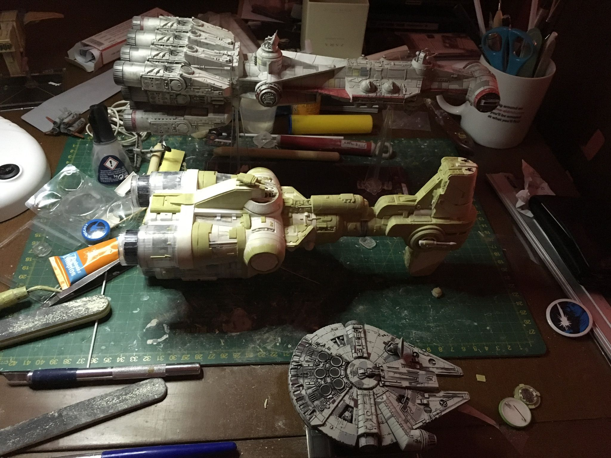 Xwing Hammerhead Corvette Size Comparison X Wing Miniatures Star Wars Ships Wings Painting