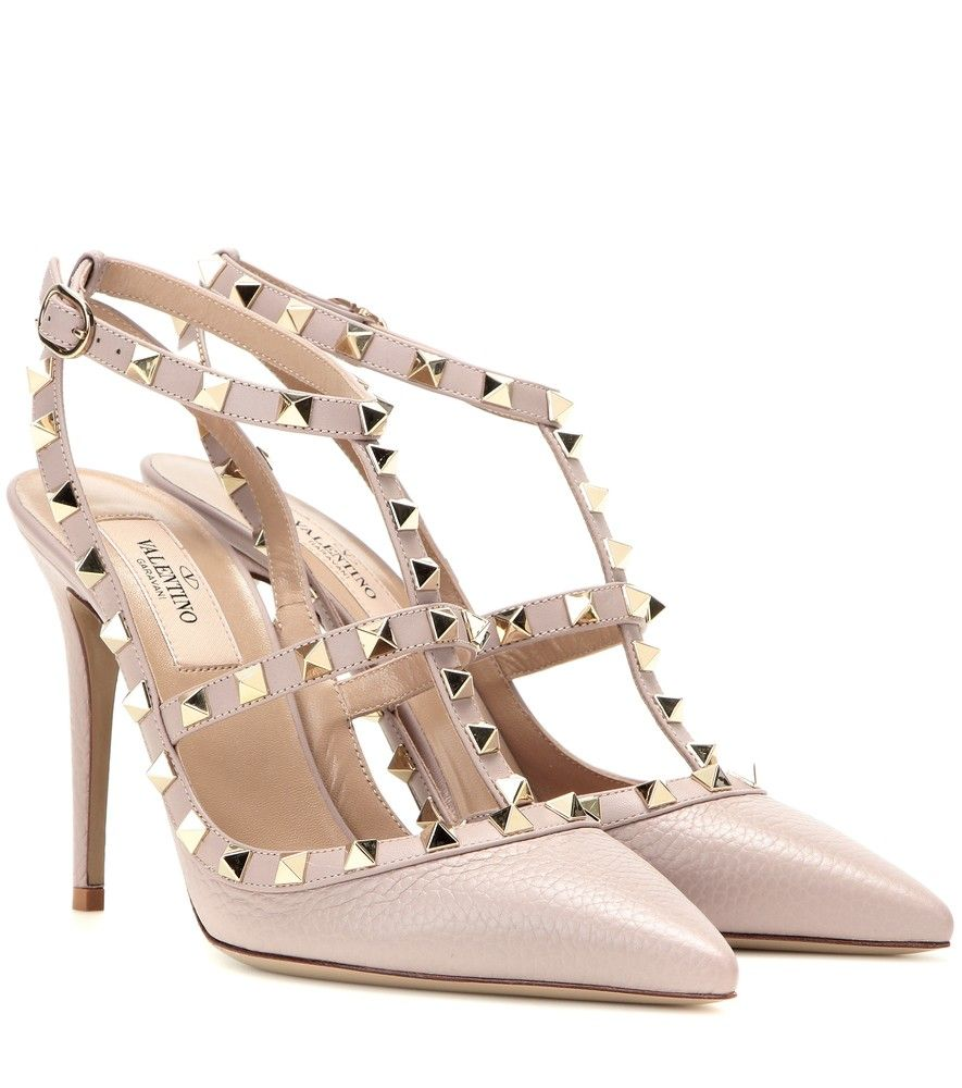 Valentino Leather Escarpins BDIEWgrot