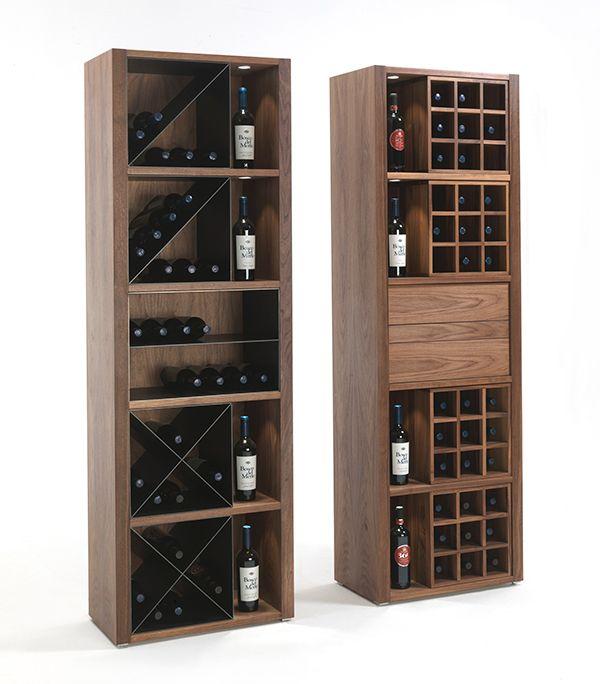 Expositor de vinos cru de riva 1920 tu ruou pinterest - Estantes para vinos ...