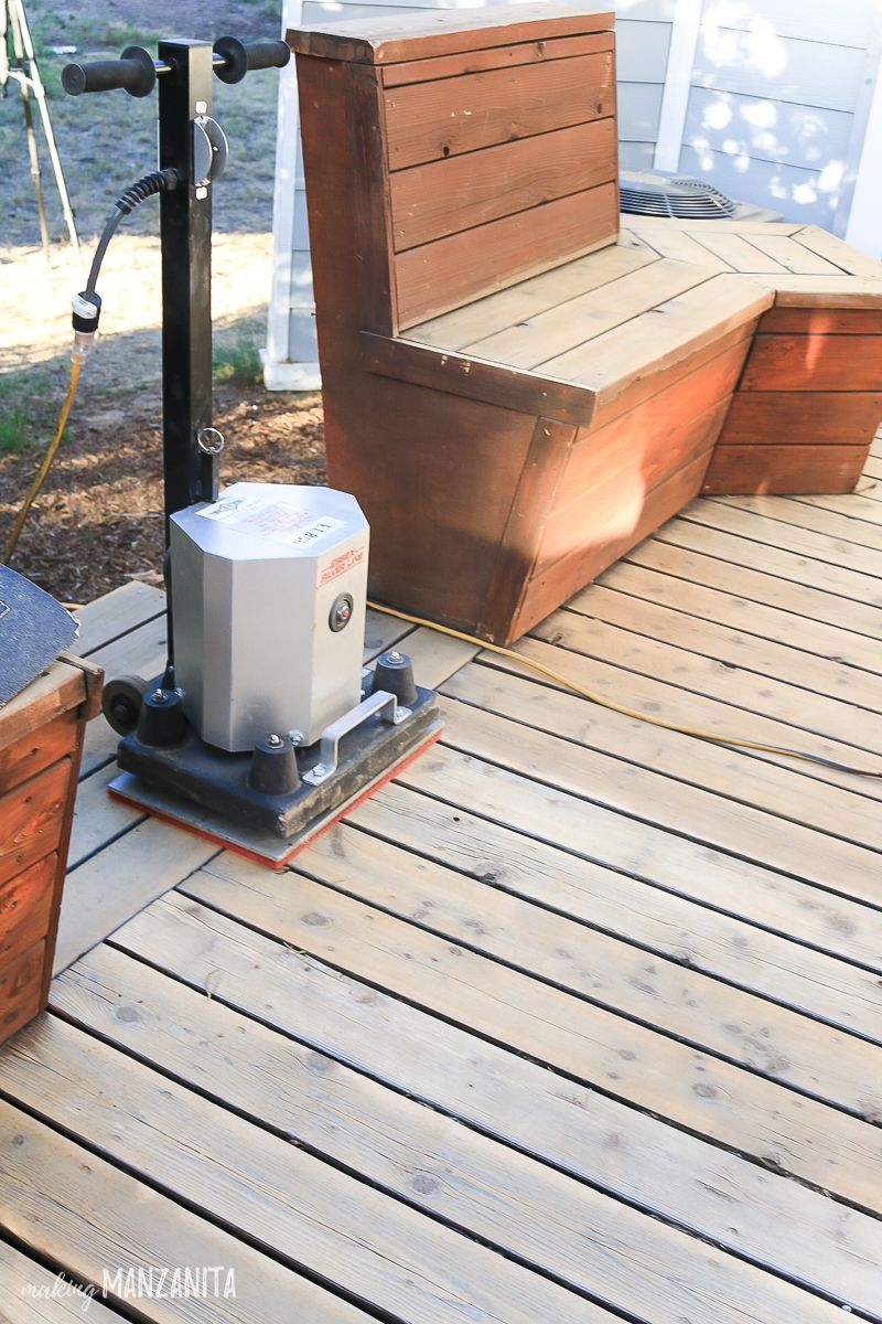 How To Restore A Deck That Has Been Neglected Restoration Diy