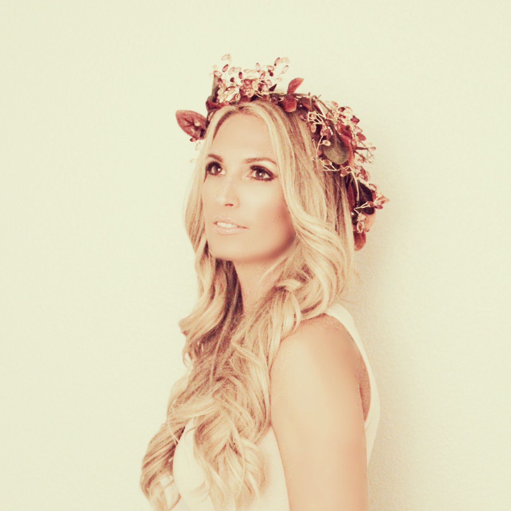 Wedding Hairstyle Crown: Bridal Hair, Flower Crown