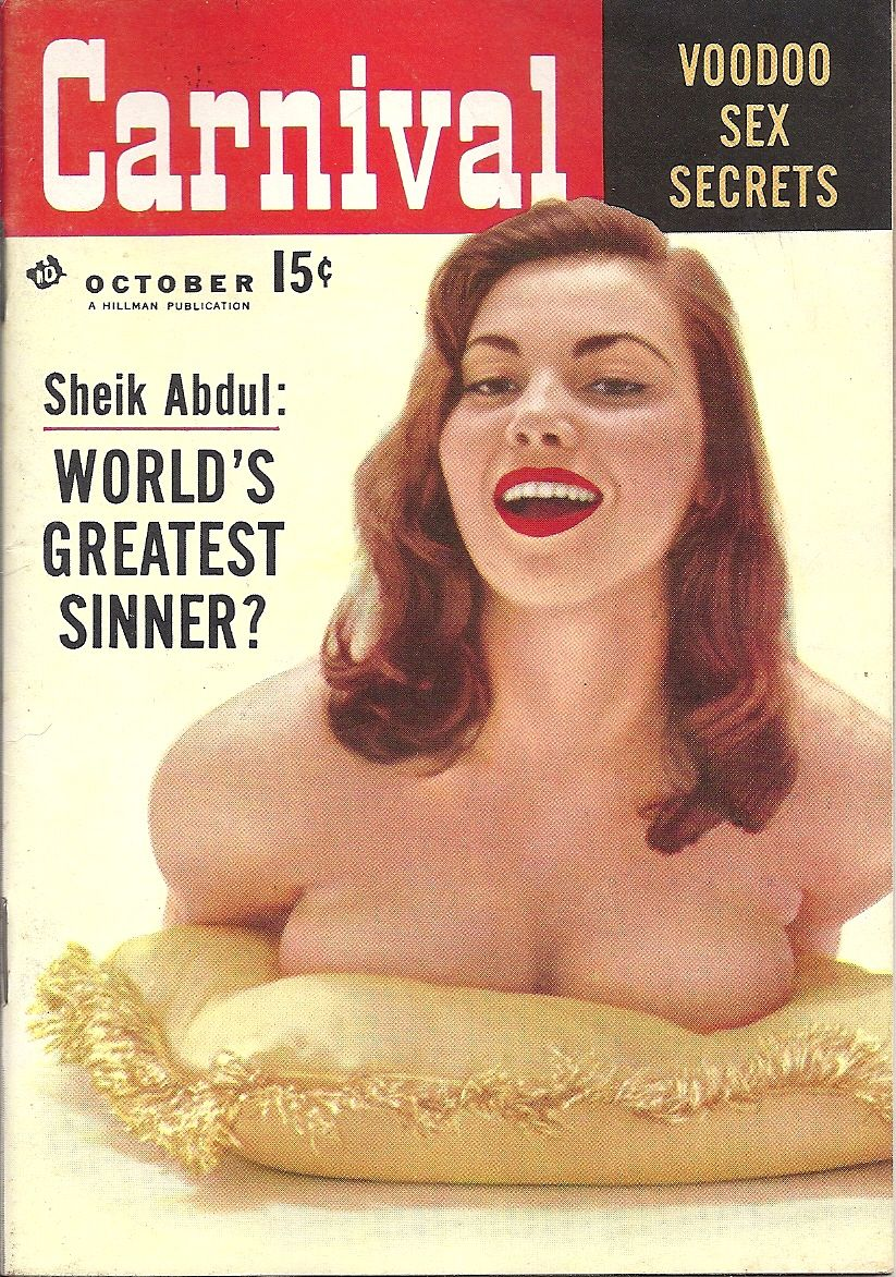 OCT 1956 CARNIVAL MAGAZINE VOL.2 #10 (Pierson Carroll)