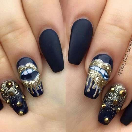 Awesome Nail Art: Awesome Nail Art With Lips