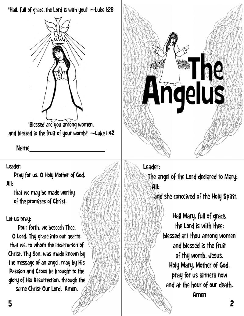Angelus Mini Book pdf - Google Drive   Religion   Mini books