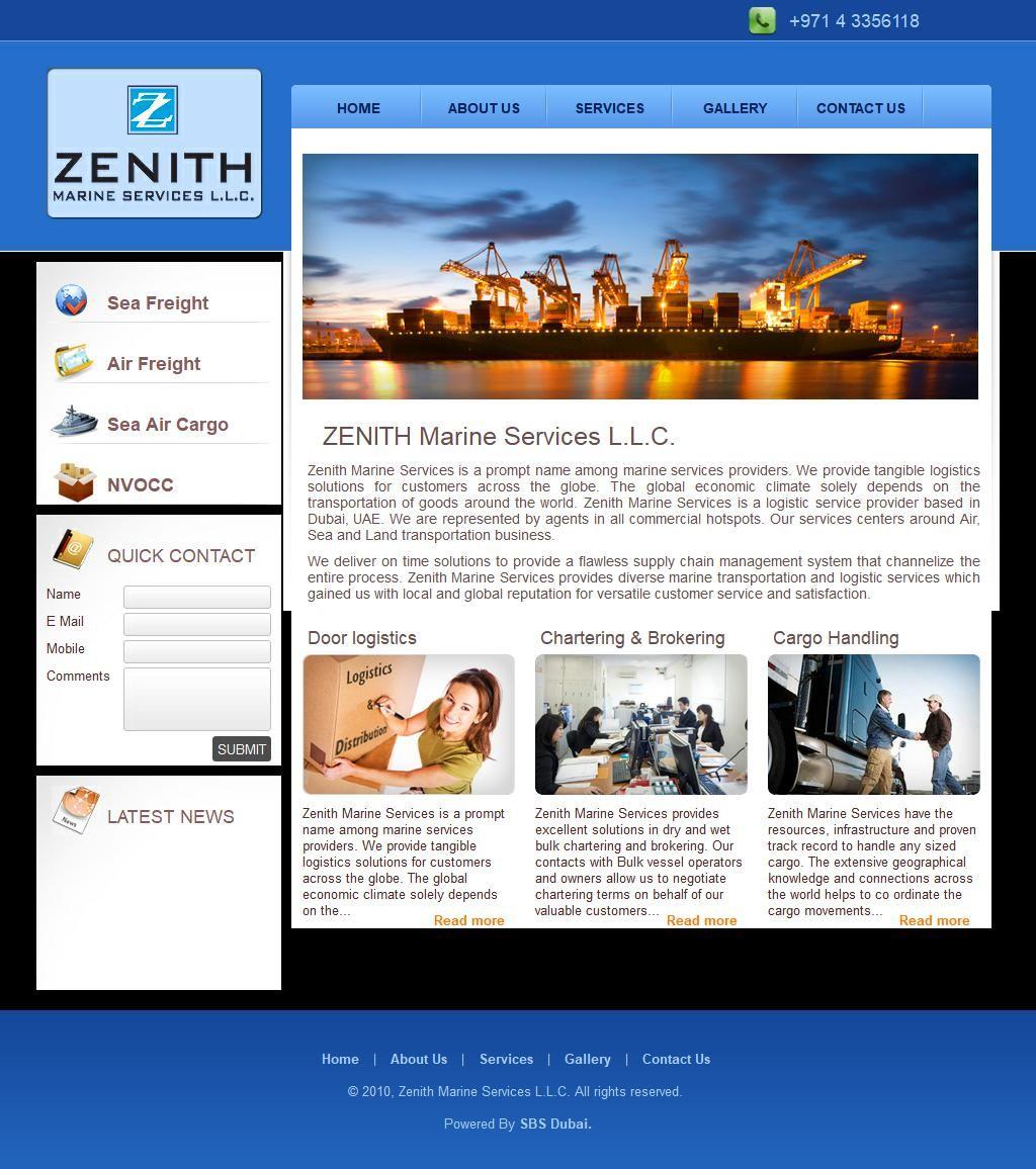 Zenith Marine Services, Llc Zaabeel Business Centre, 48, Umm