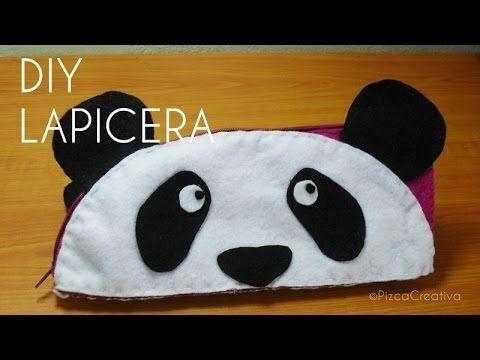 Molde Oso Lapicera De Moldes Youtubetutoriales Panda Con Diy BeCWrdxo