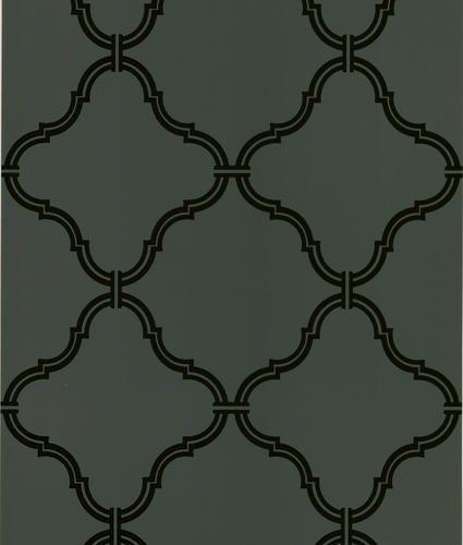 Dark Brown Moroccan Grate Wallpaper At Menards Beacon House Brown Wallpaper Modern Wallpaper