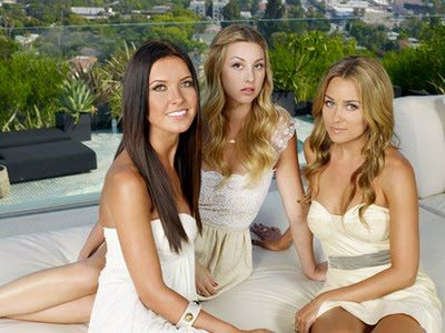 Audrina, Whitney, and Lauren