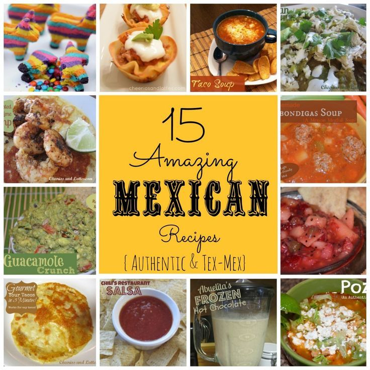 15 amazing mexican recipes authentic tex mex food mexican 15 amazing mexican recipes authentic tex mex food mexican recipes forumfinder Image collections