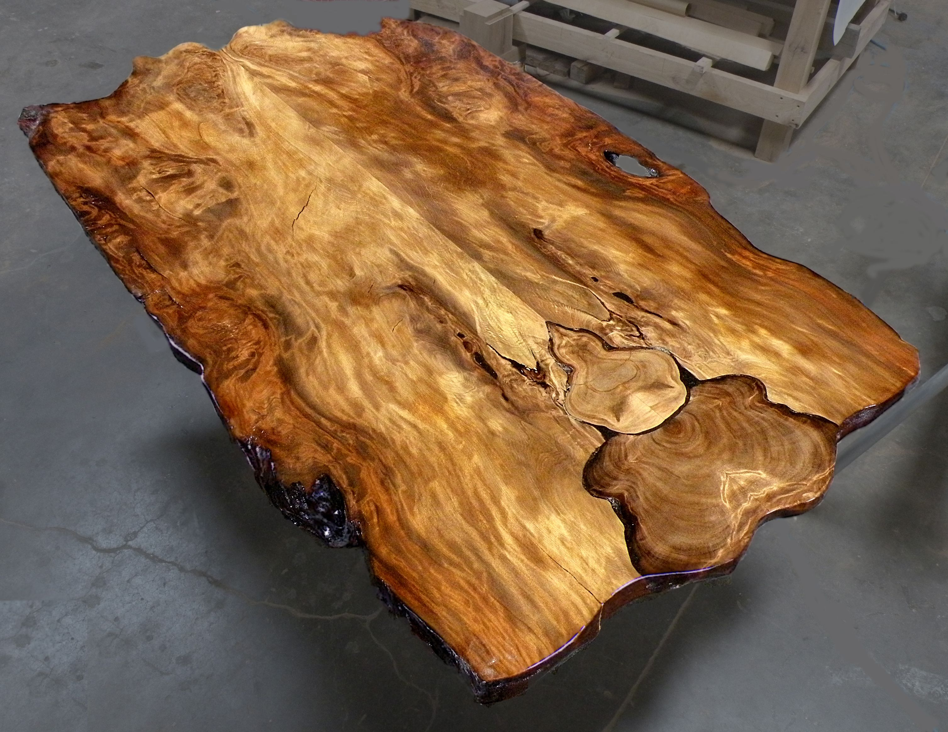 Beautiful Active Grain Slab Wwwancientwoodcom Ancientwood - This amazing resin table is made using 50000 year old wood