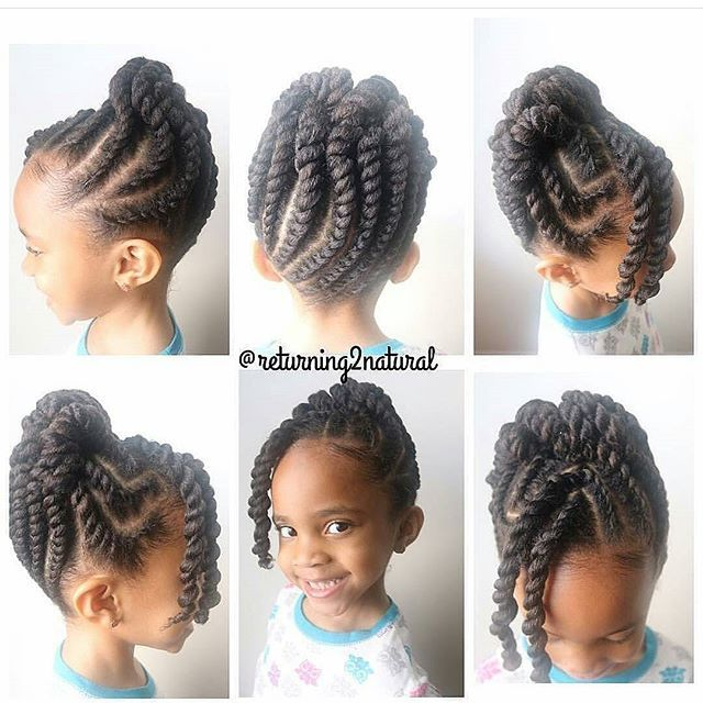Natural toddler hairstyle coiffure Coiffure enfant