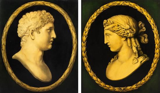 Artist Unknown, (Italian, 19th and 20th Century), A Pair of Cameos