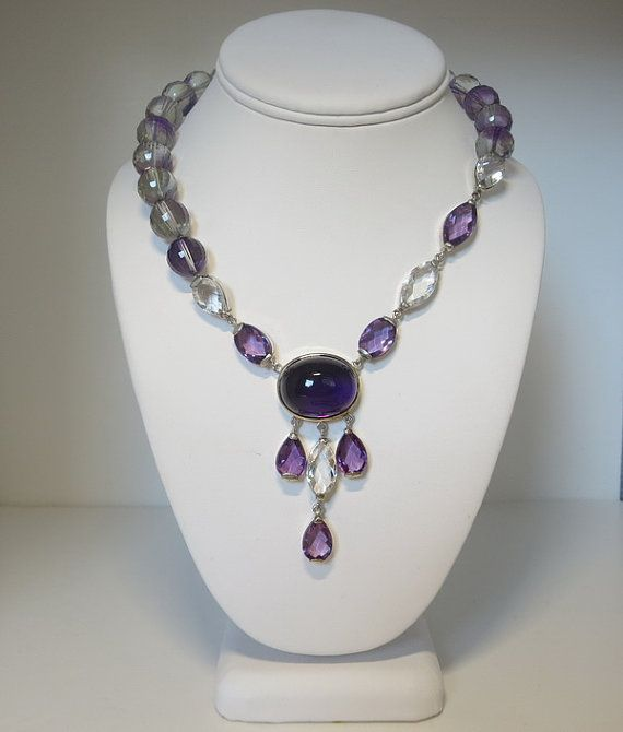 Unique and fancy Semiprecious stones AAA Amethyst by AthinaGems