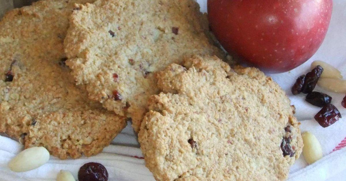 Vollwert-Frühstücks-Sport-Dinkel-Hafer-Kekse