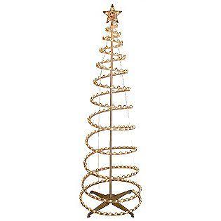Trim A Home 6ft Lighted Spiral Christmas Tree Clear Spiral Christmas Tree Christmas Lights For Sale Christmas Tree Lighting