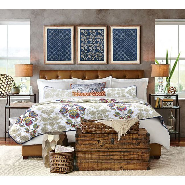 Overstock Com Online Shopping Bedding Furniture Electronics Jewelry Clothing More In 2020 Master Bedrooms Decor Rustic Master Bedroom Leather Bed Headboard