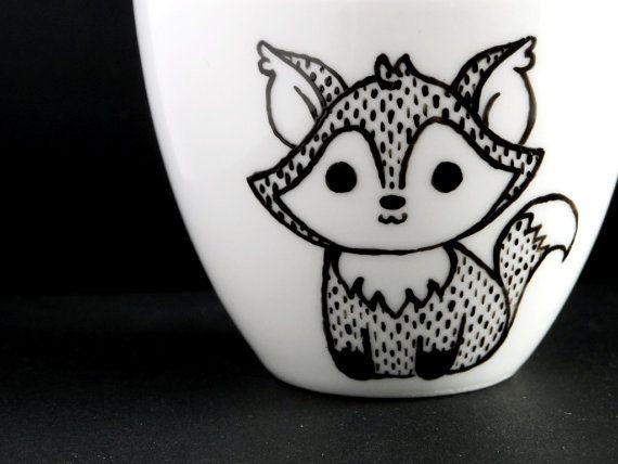 Fox espresso cup