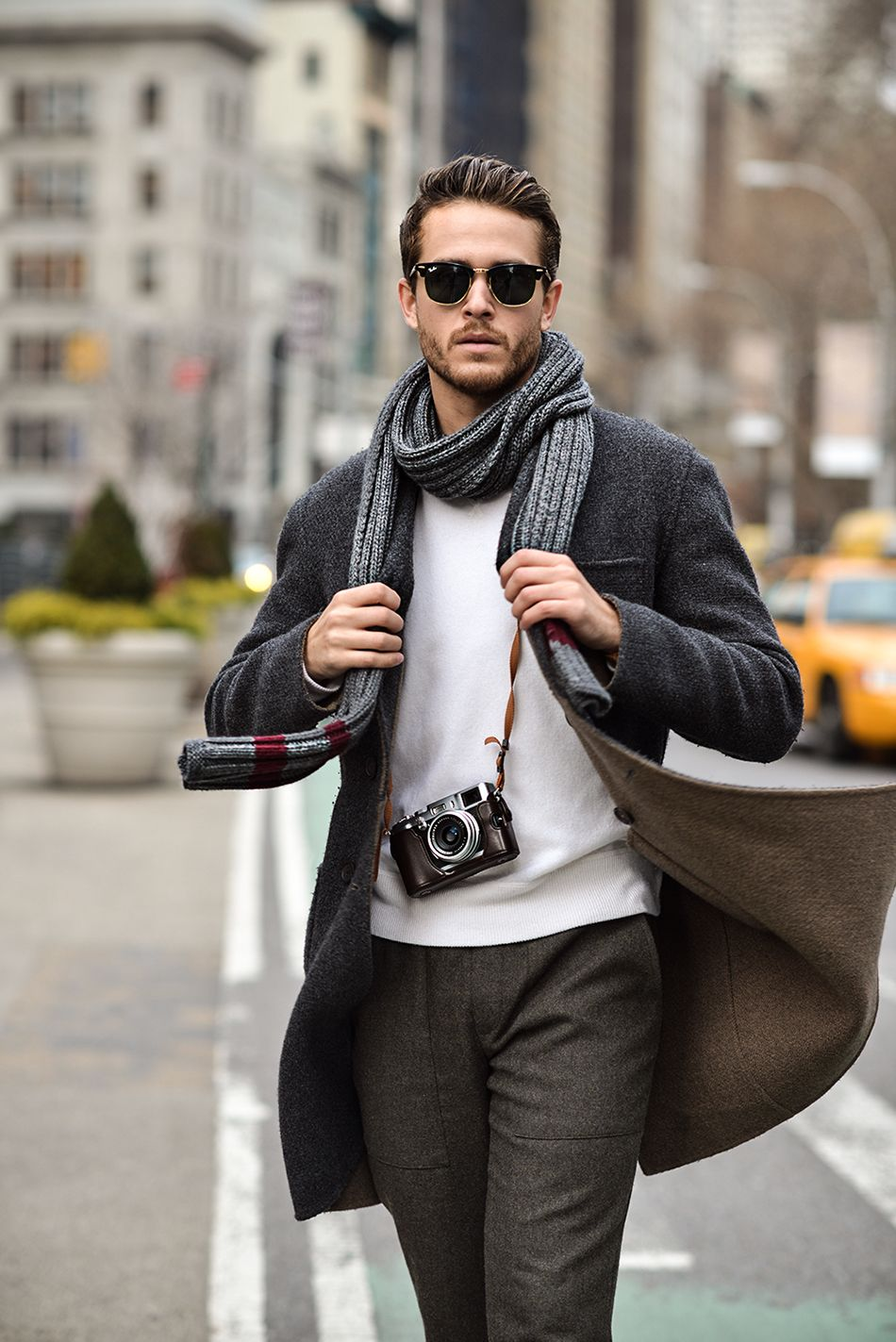 The 10 Best Scarves for Men this Fall and Winter Ways to