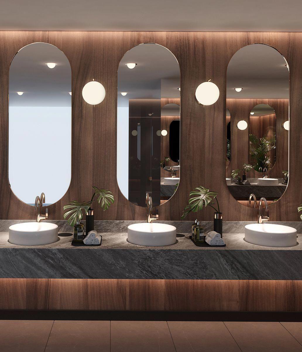 Bathroom Mirrors Amazon Luxurybathroomcollections Traumhafte Badezimmer Toilette Design Wohnungsplanung