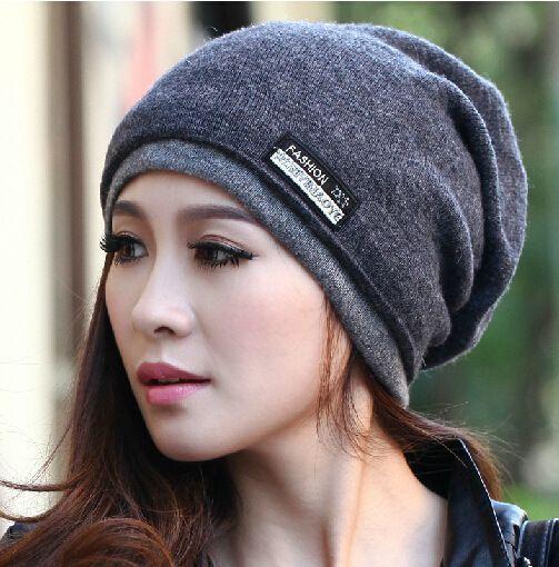 2015 de Alta Calidad de Lana Caliente Gorras de Punto Gorros Sombrero  Bufanda Infinito Invierno Skullies Cap Para Mujer y Hombres(China  (Mainland)) 46df4a09c01