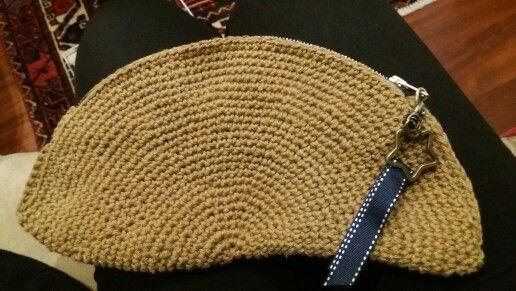 Cartera crochet hilo d algodón