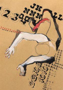 Visual-Poetry / »dance« by kasia gawron