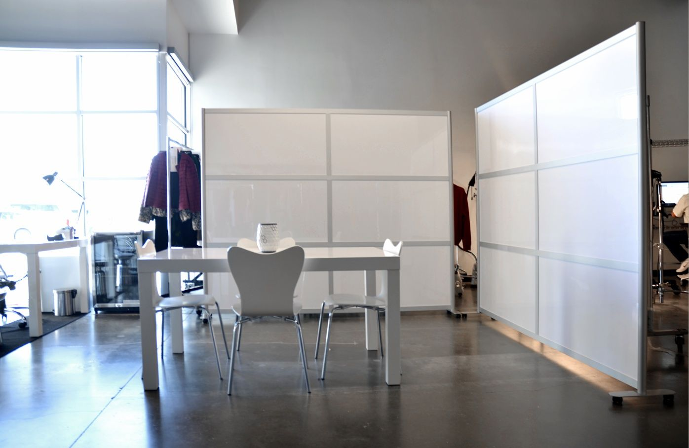 Magnetic Whiteboard Dividers Office Space Pinterest