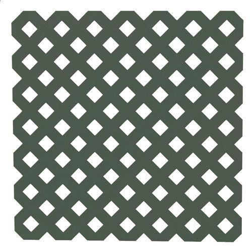 To Cover Concrete Basement Bathroom Wall 1 4 X 8 X 4 Green Privacy Vinyl Lattice Plastic Lattice Lattice Privacy Lattice Panels