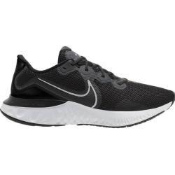 Photo of Nike Herren Laufschuhe Renew Run, Größe 45 ½ In Black/metallic Silver-White, Größe 45 ½ In Black/met