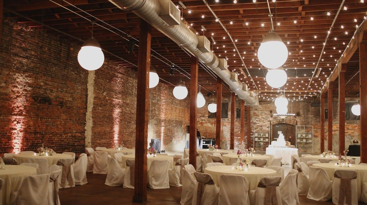 Image result for married in front of brick wall wedding ideas ba warehouse is the perfect venue for a birmingham wedding junglespirit Gallery